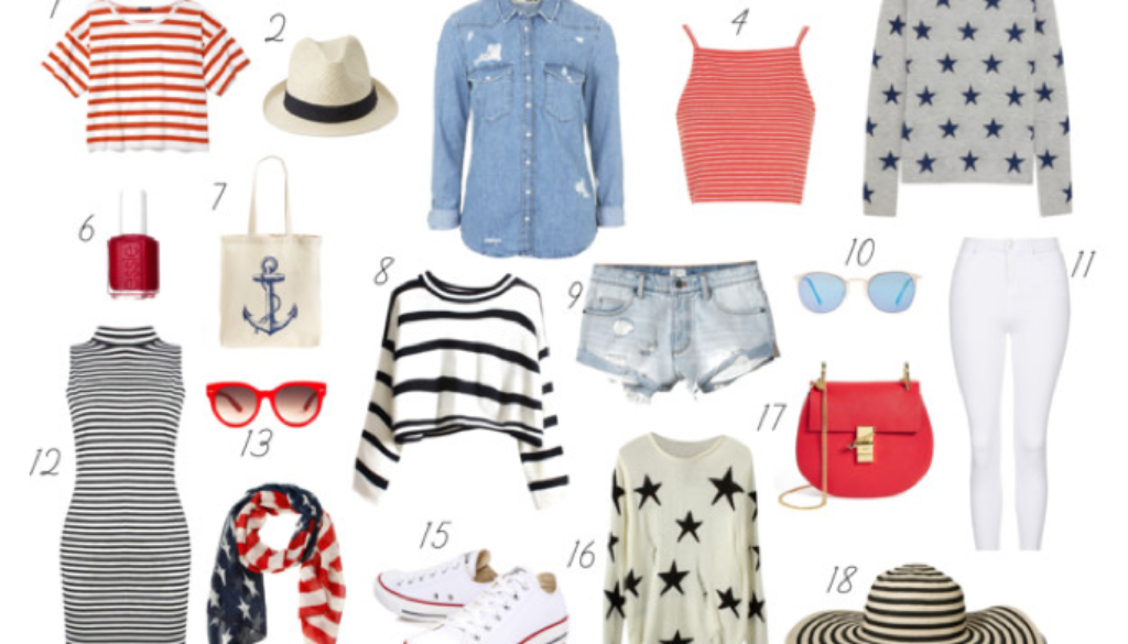 4th of July Fashion_Styled By Kasey