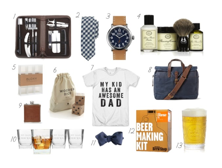 fathers day gift guide_styled by kasey
