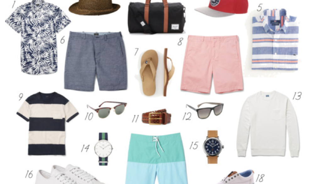 mens summer essentials_styled by kasey