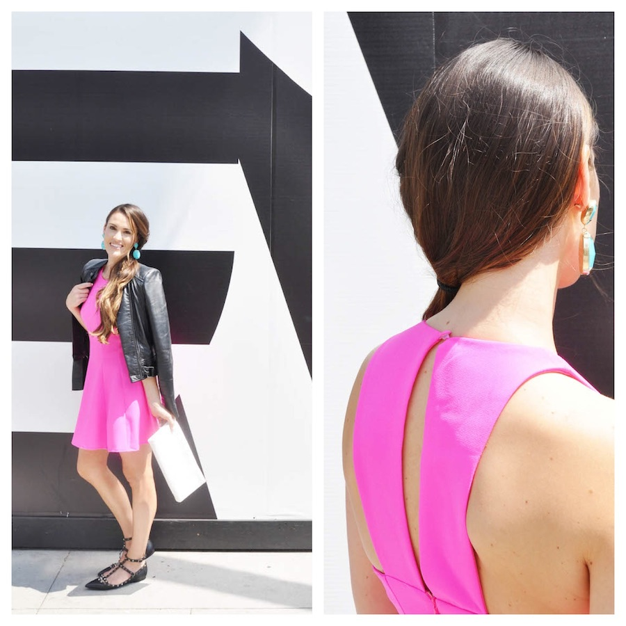pink dress two ways_style by kasey