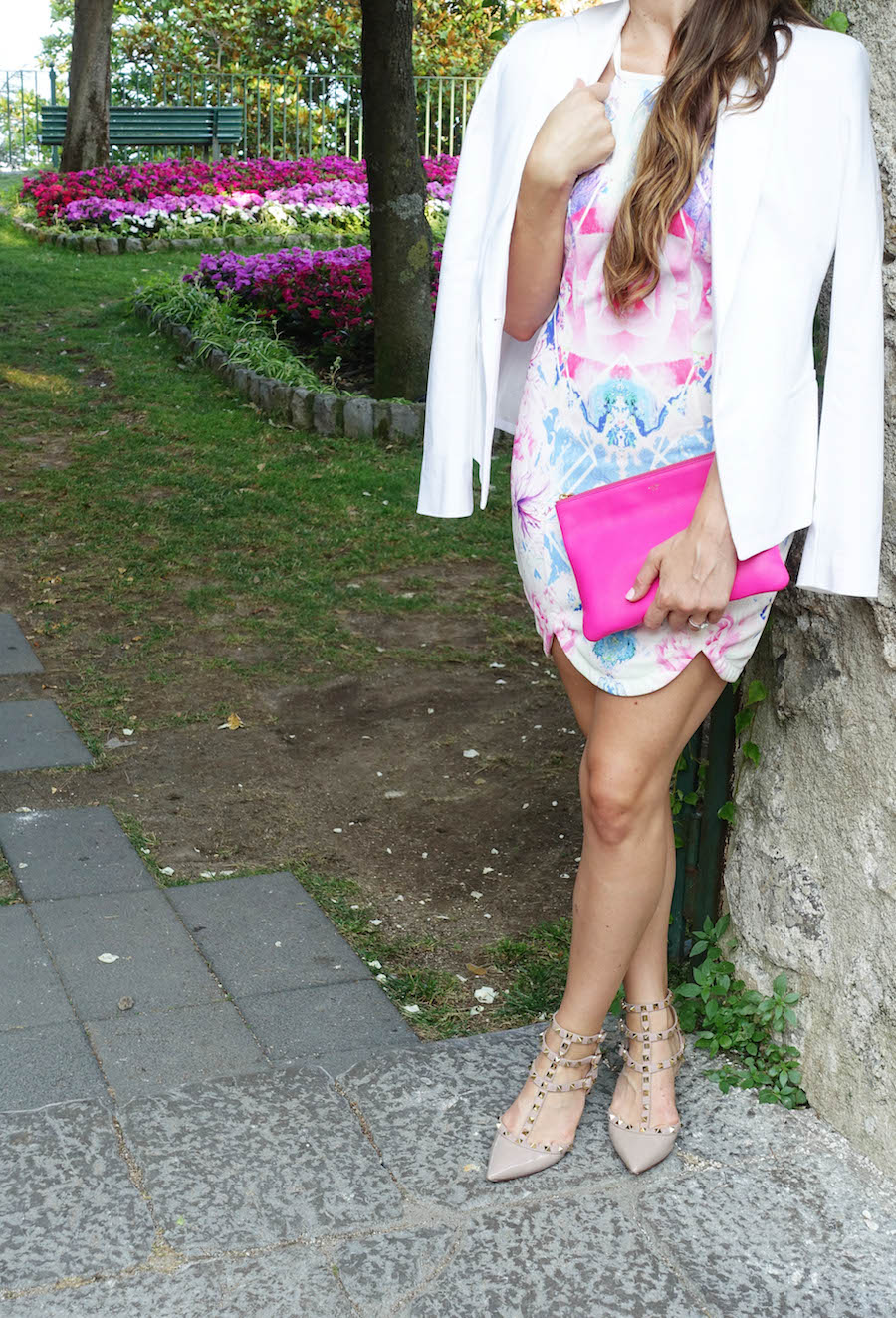 Ravello bright printed dress_styled by kasey