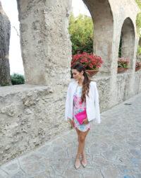 Ravello bright printed dress_styled by kasey_