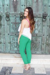Amalfi crochet green_styled by kasey