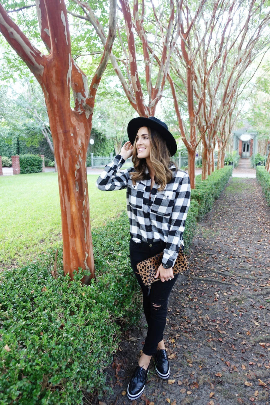 plaid fall fashion