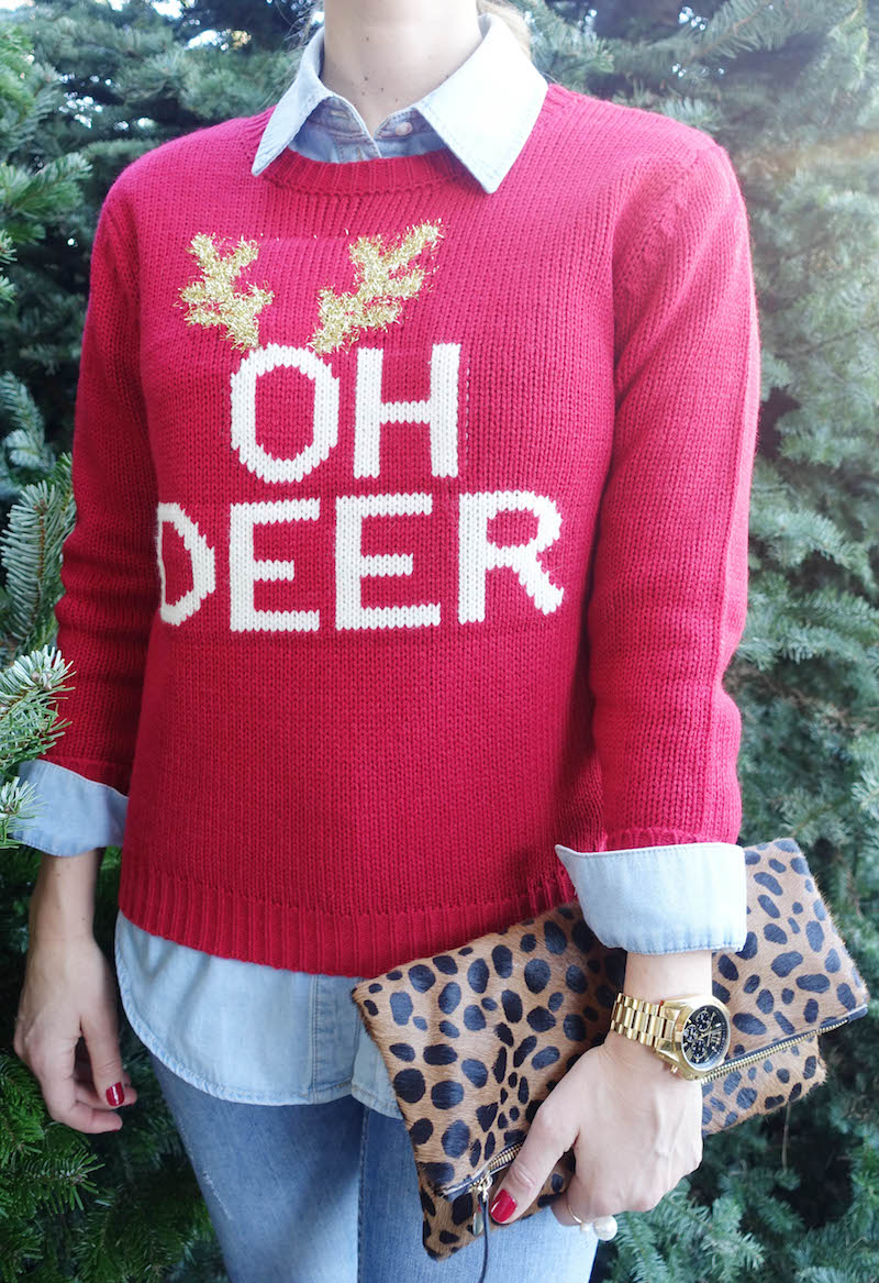 oh deer_holiday sweater