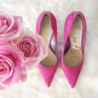 sam edleman pink heels