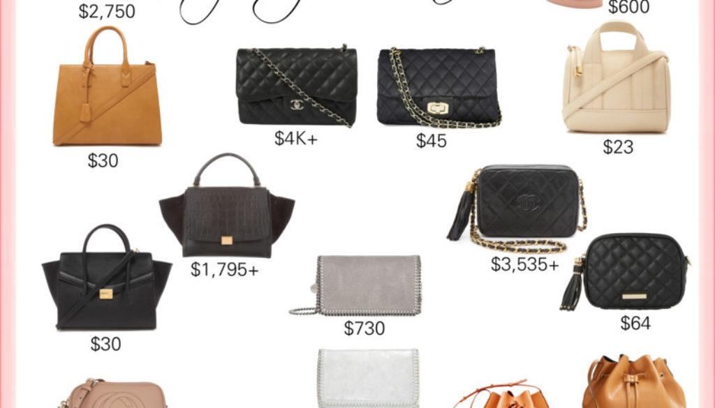 splurge vs steal handbags_styled by kasey