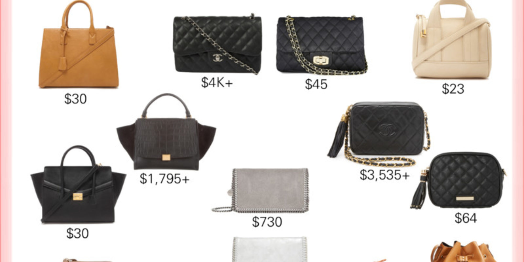18aa290bc56 splurge vs steal handbags_styled by kasey - Styled By Kasey