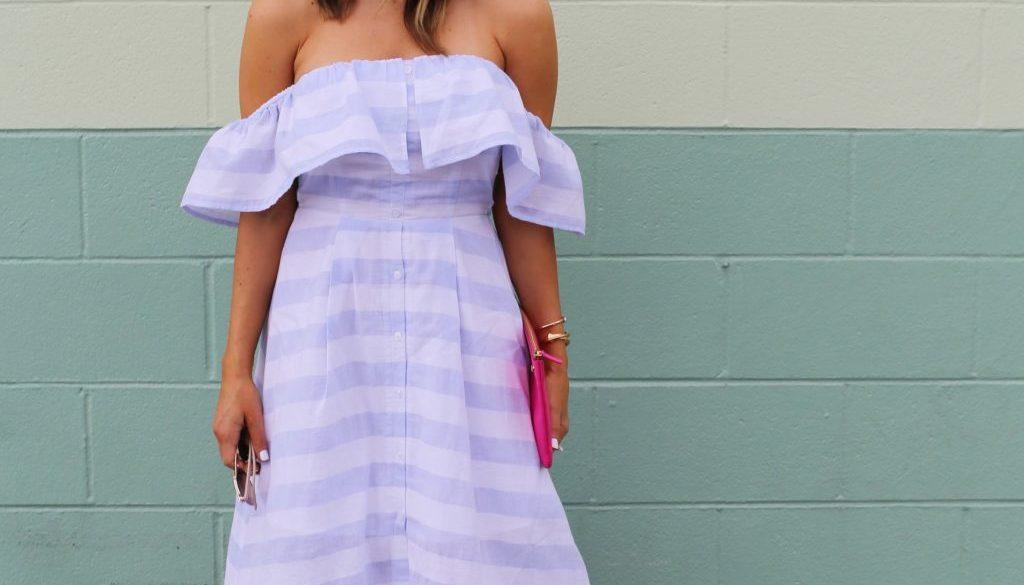 off the shoulder dress stripes_sbk_8 2