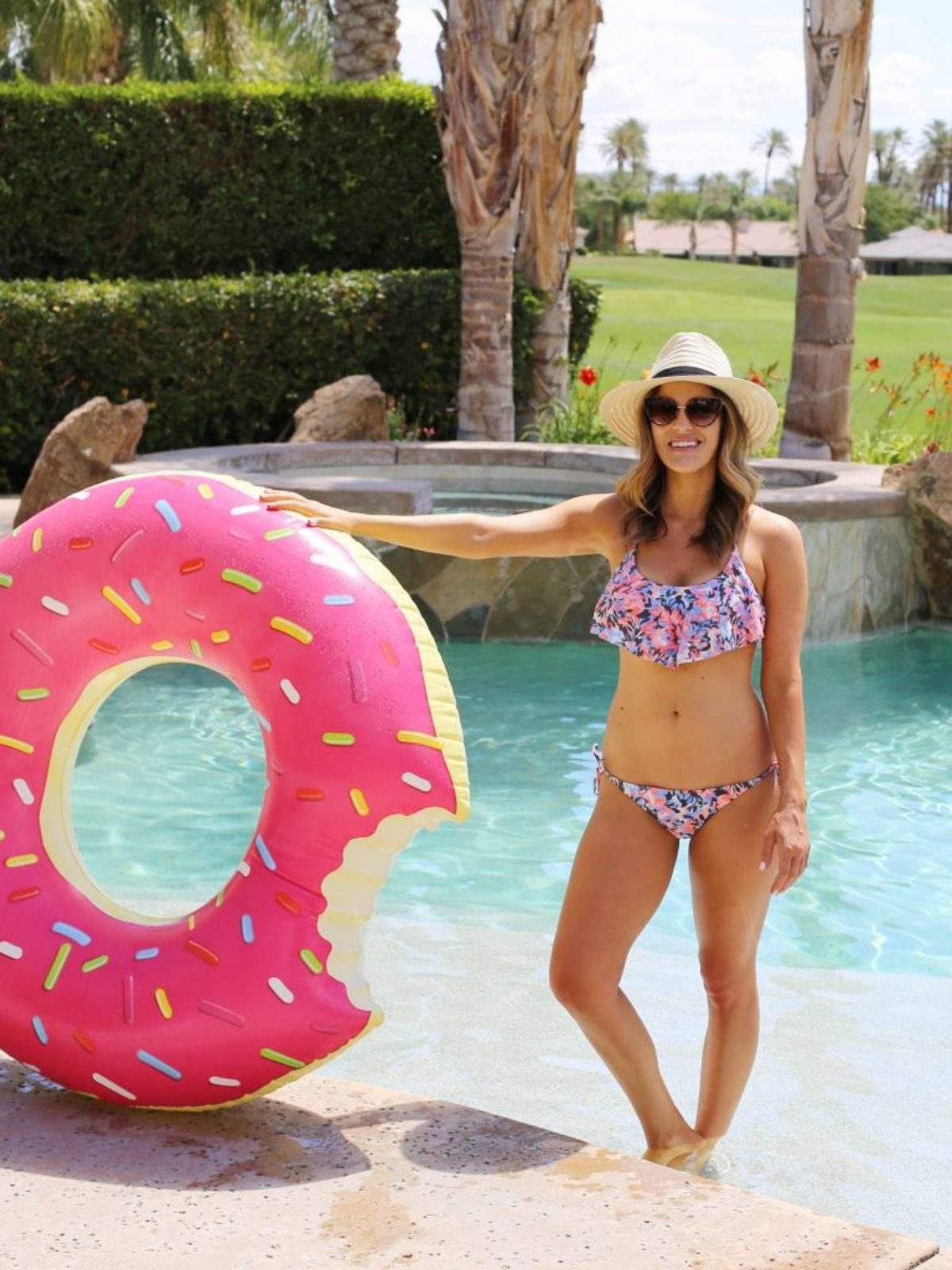 summer swim pool time