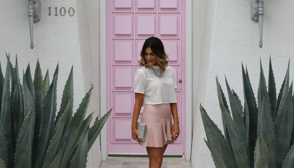 pink door palm springs blush