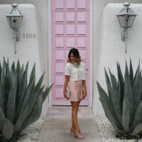 pink door palm springs blush
