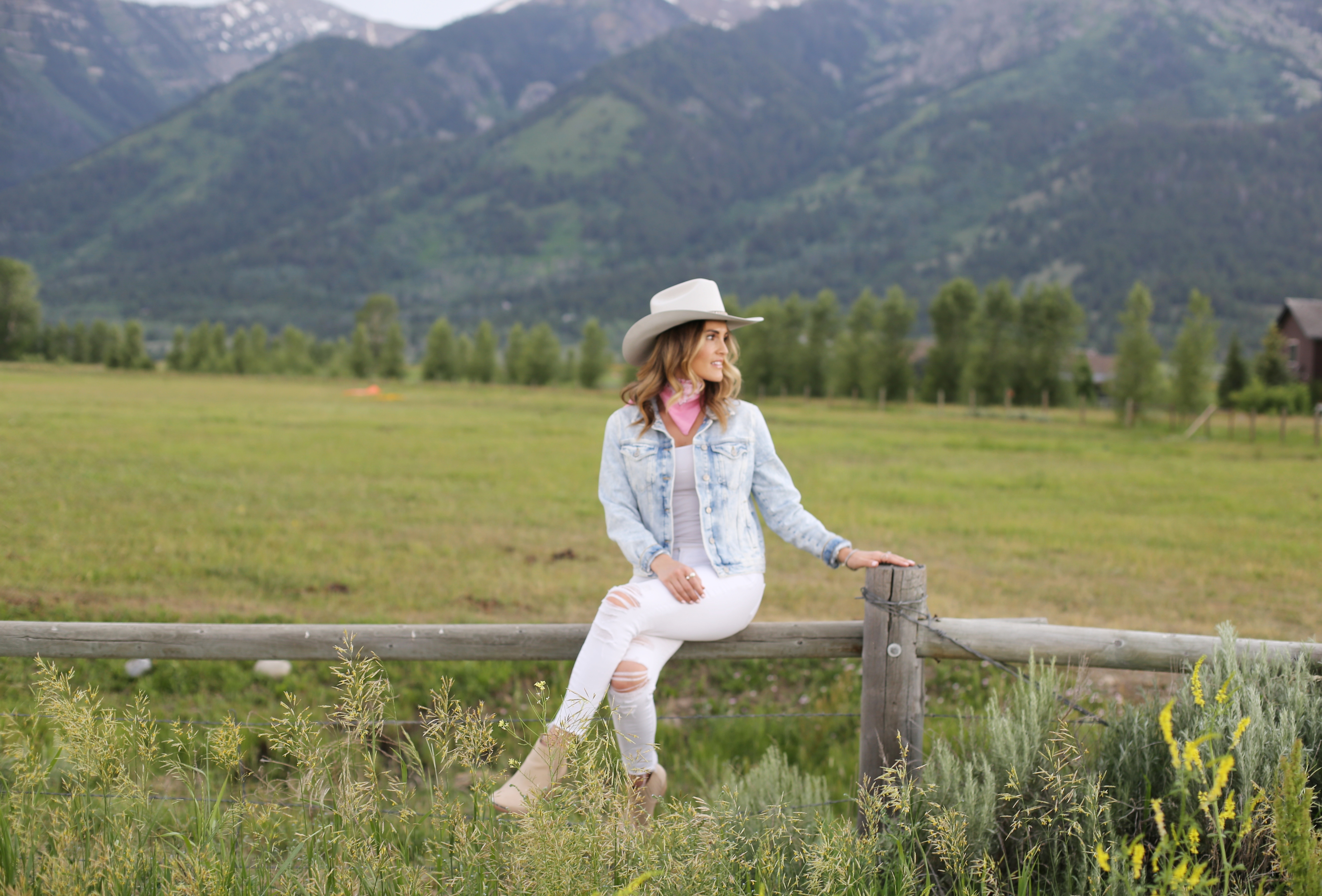 cowgirl wyoming styled bye kasey
