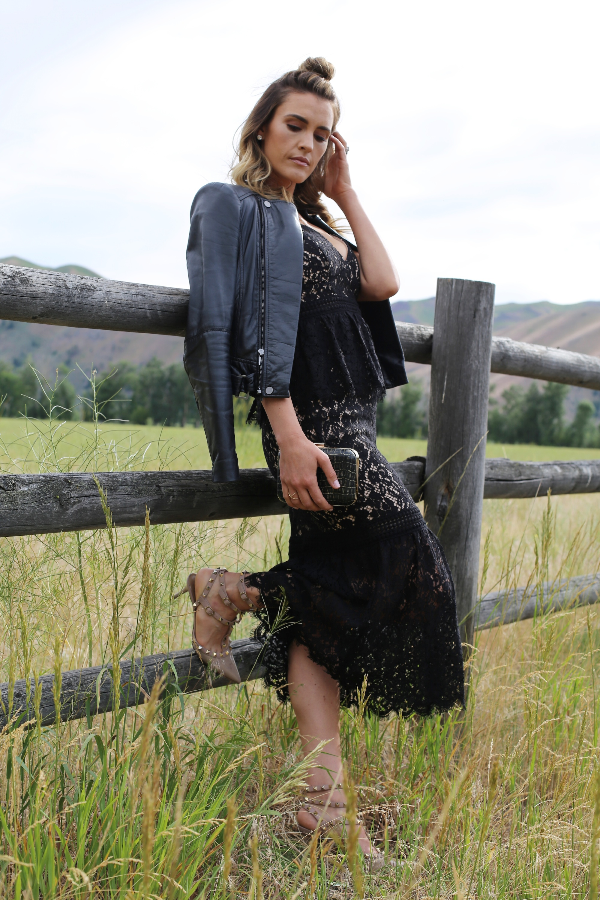country girl lace dress styled by kasey