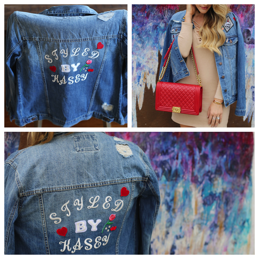 diy denim styled by kasey