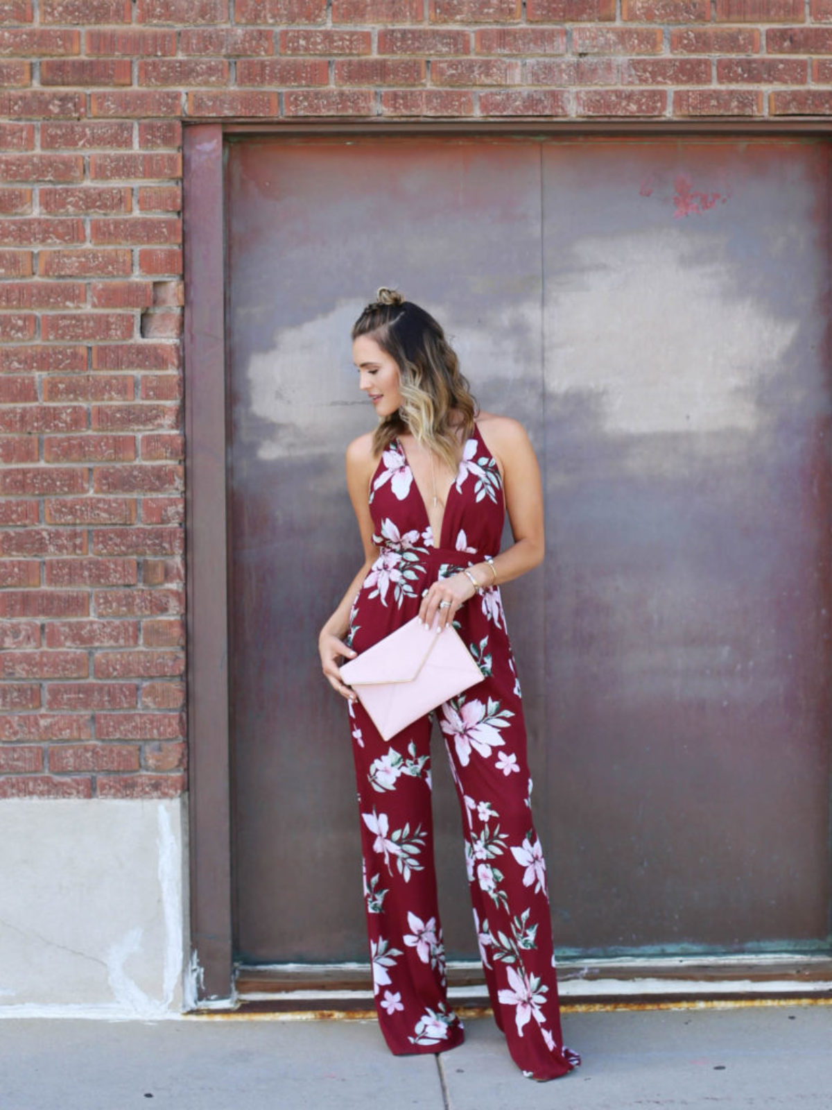 summer jumpsuit styled by kasey