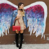la angel wings wall styled by kasey