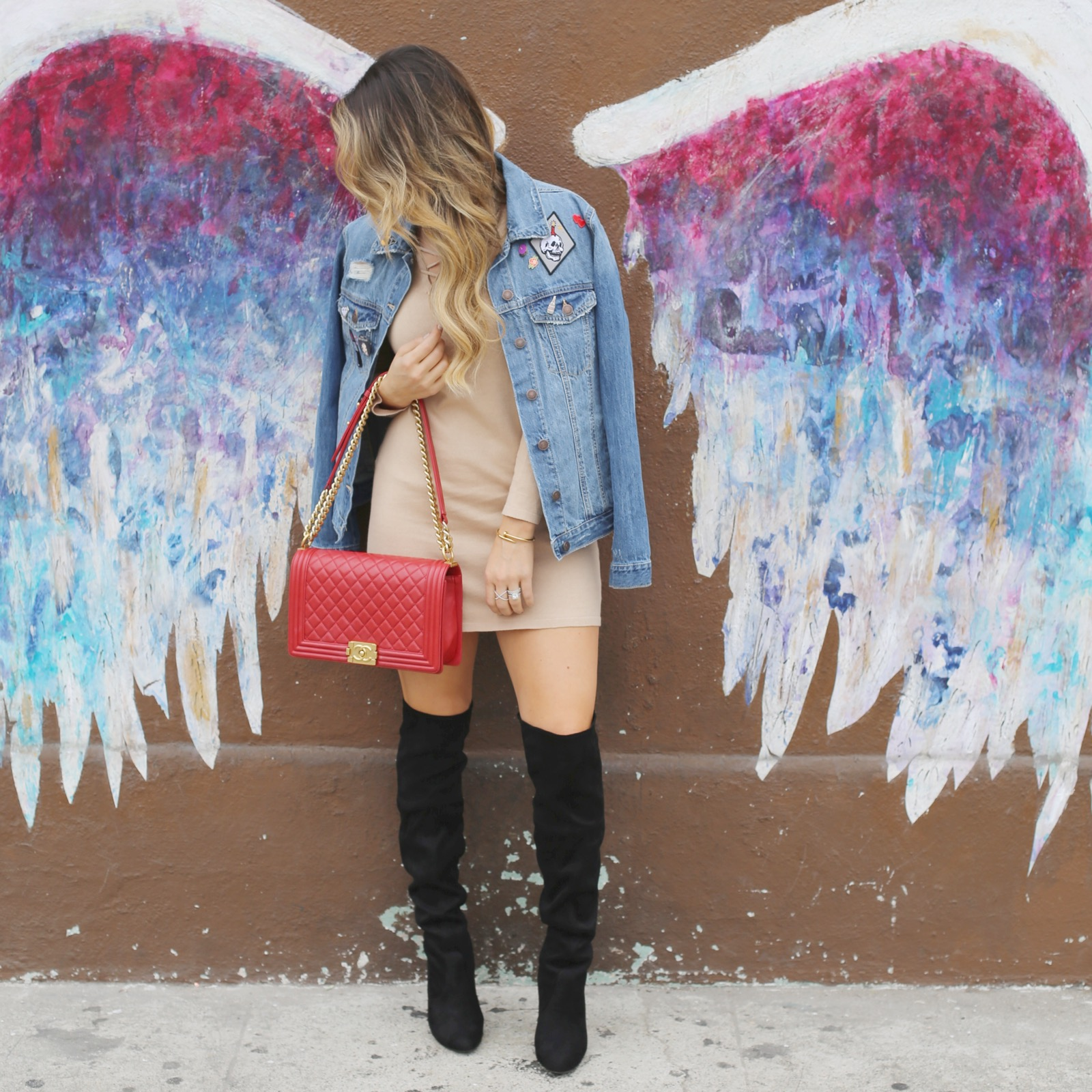 colette miller angel wings styled by kasey la walls