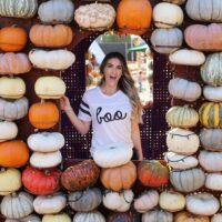 pumpkin patch boo tee styled by kasey