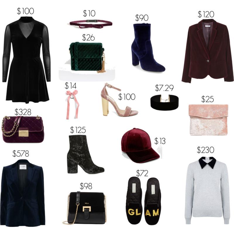 velvet fashion trend styled by kasey