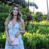 hawaii maxi dress styled by kasey
