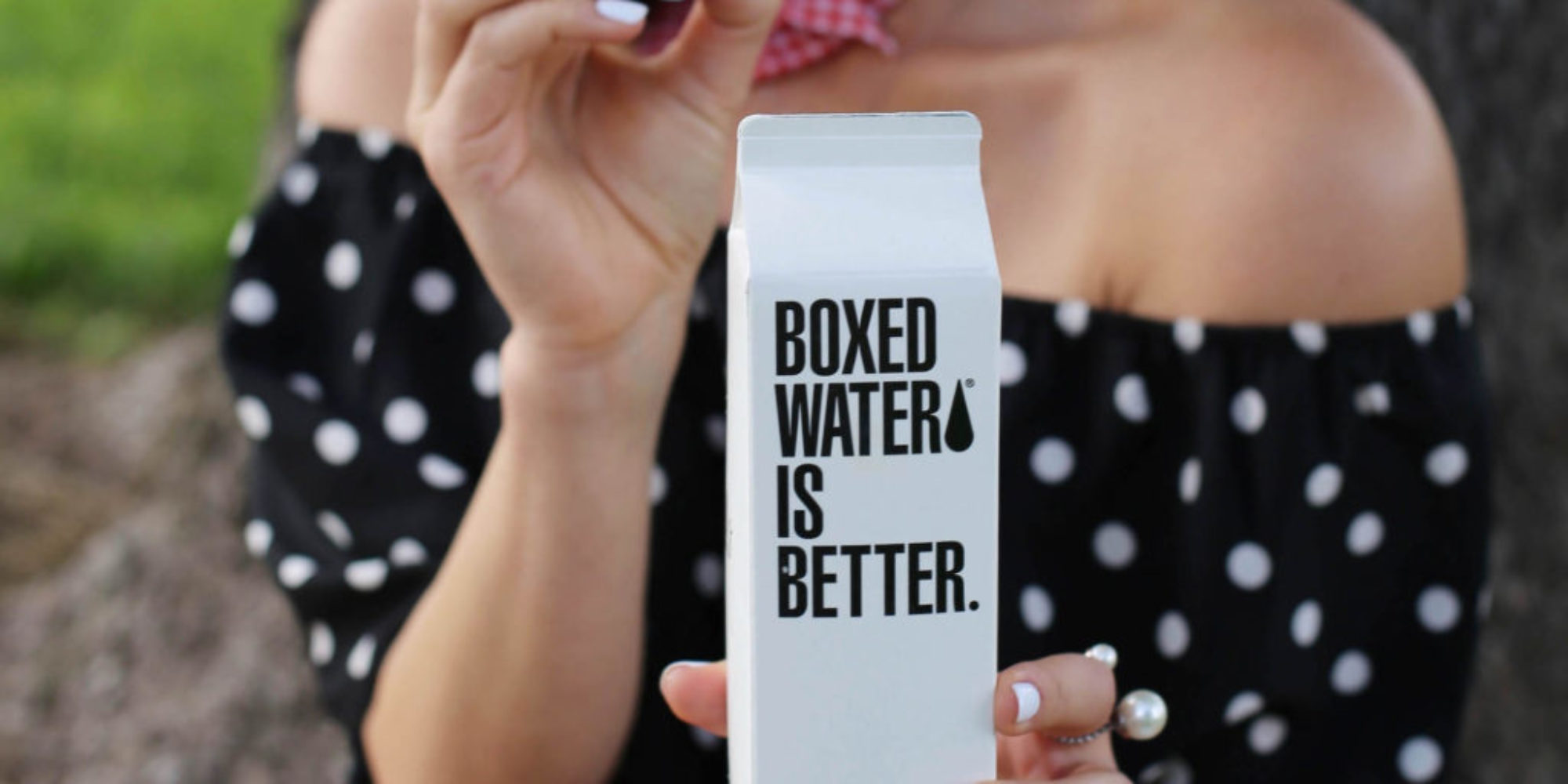boxed water retree project styled by kasey