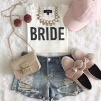bachelorette bride outfit
