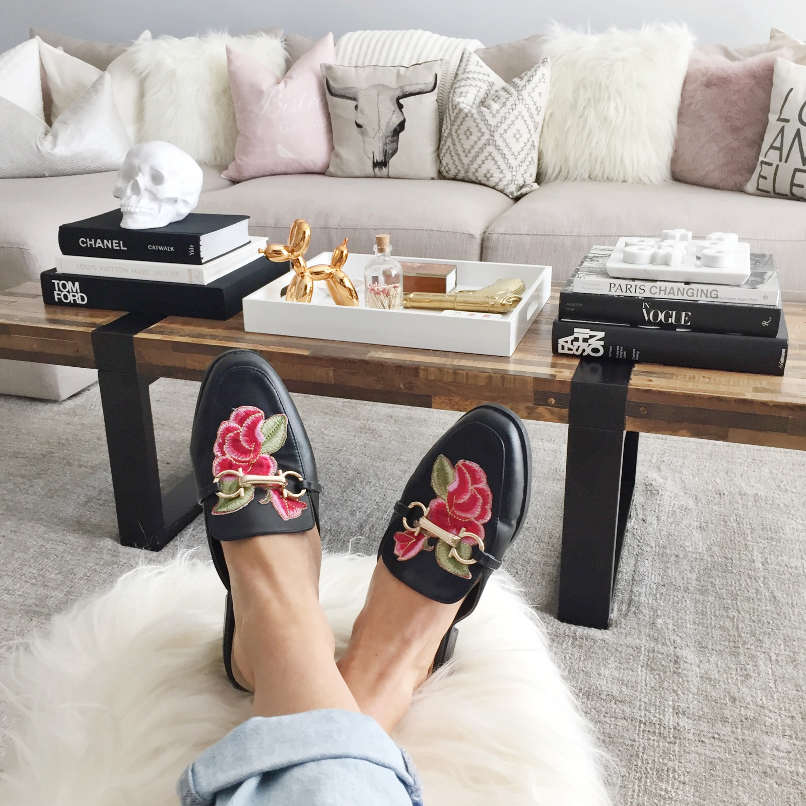 Black mules gucci look alike shoes