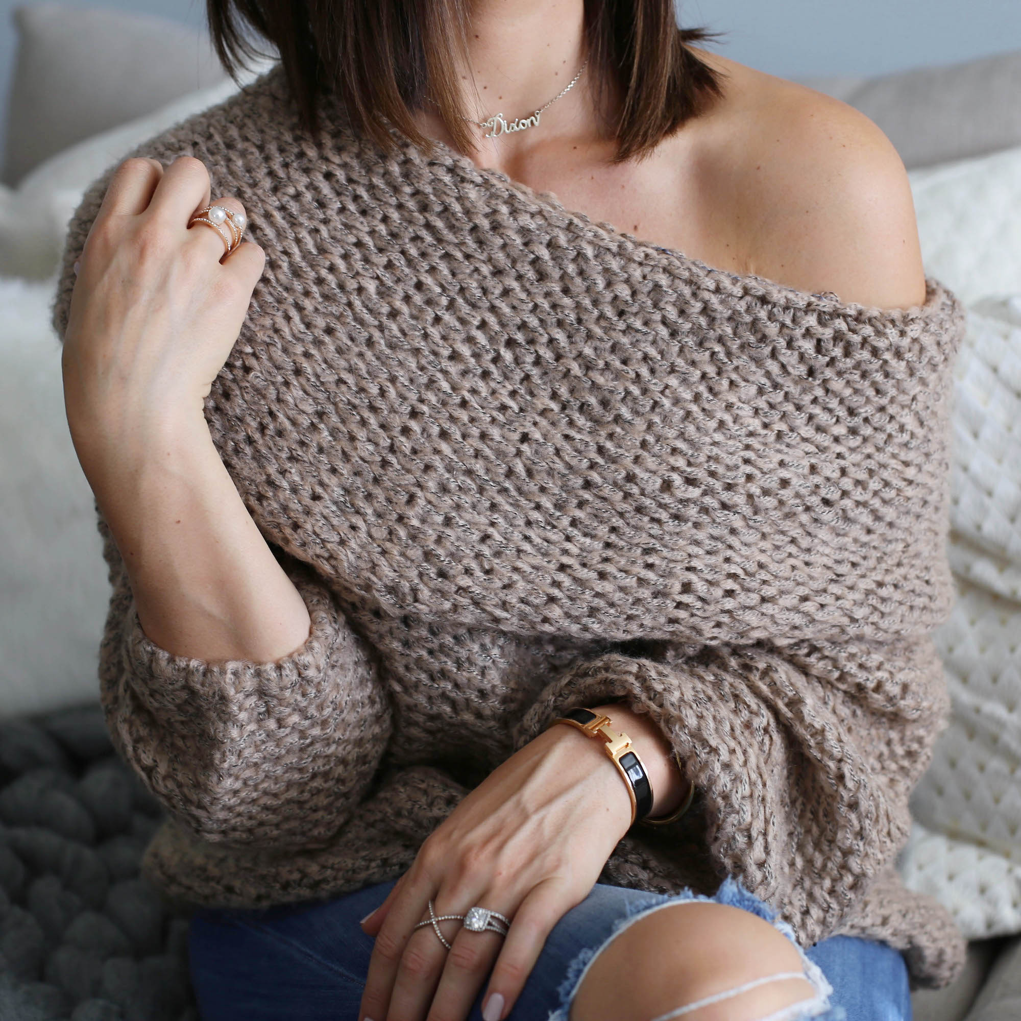 neutral knits
