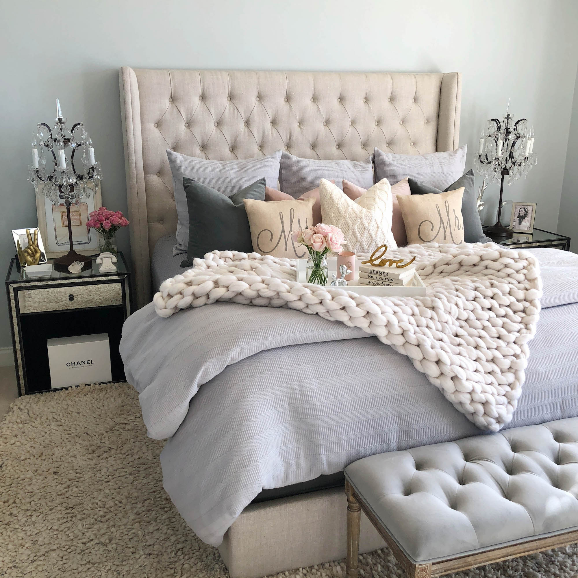 Shabby Chic Bedrooms: Shabby-Chic Bedroom