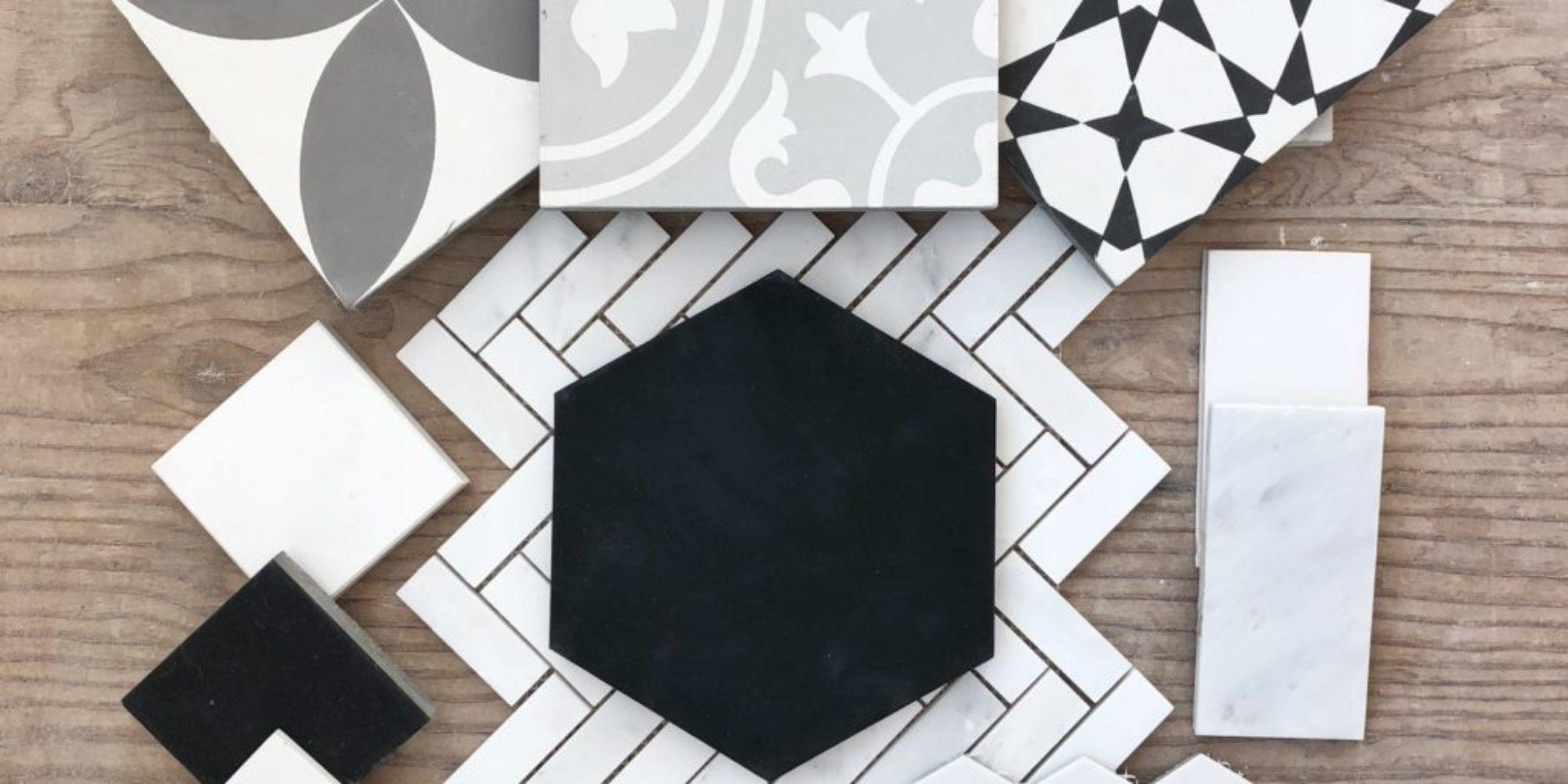 cement tile modern farmhouse