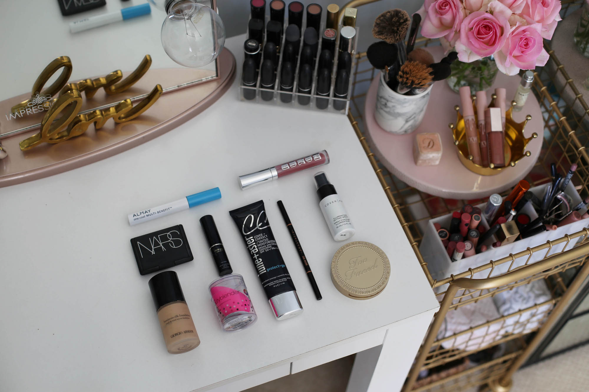 top to makeup products