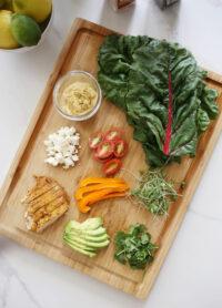 rainbow wrap recipe
