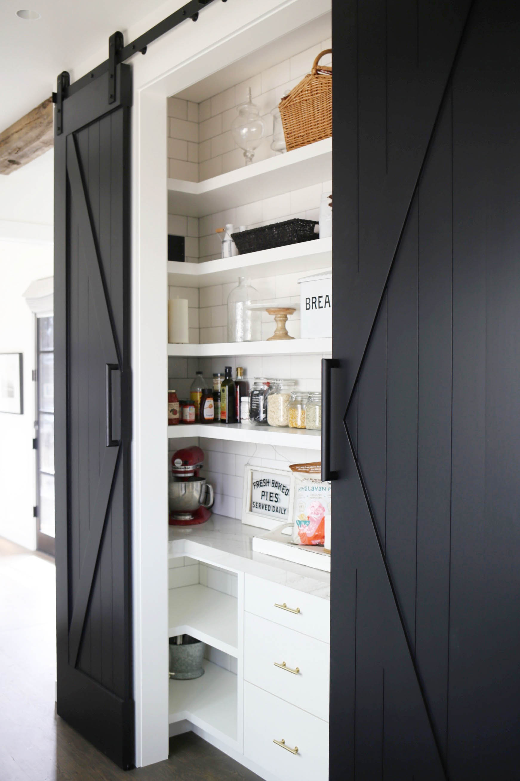 Farmhouse Pantry Styled By Kasey