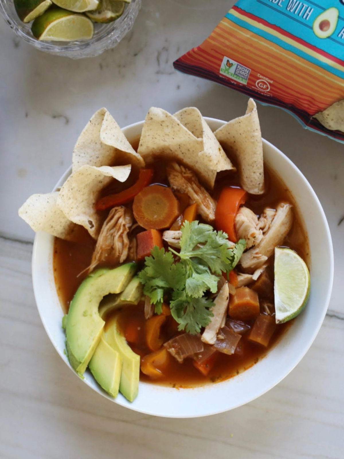 healthy chicken soup recipe