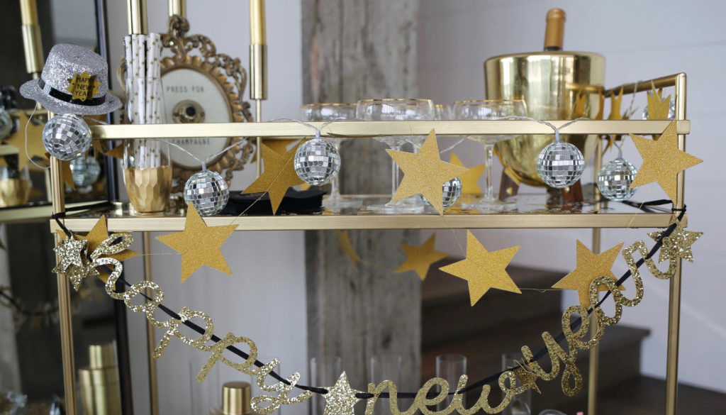 NYE Bar Cart