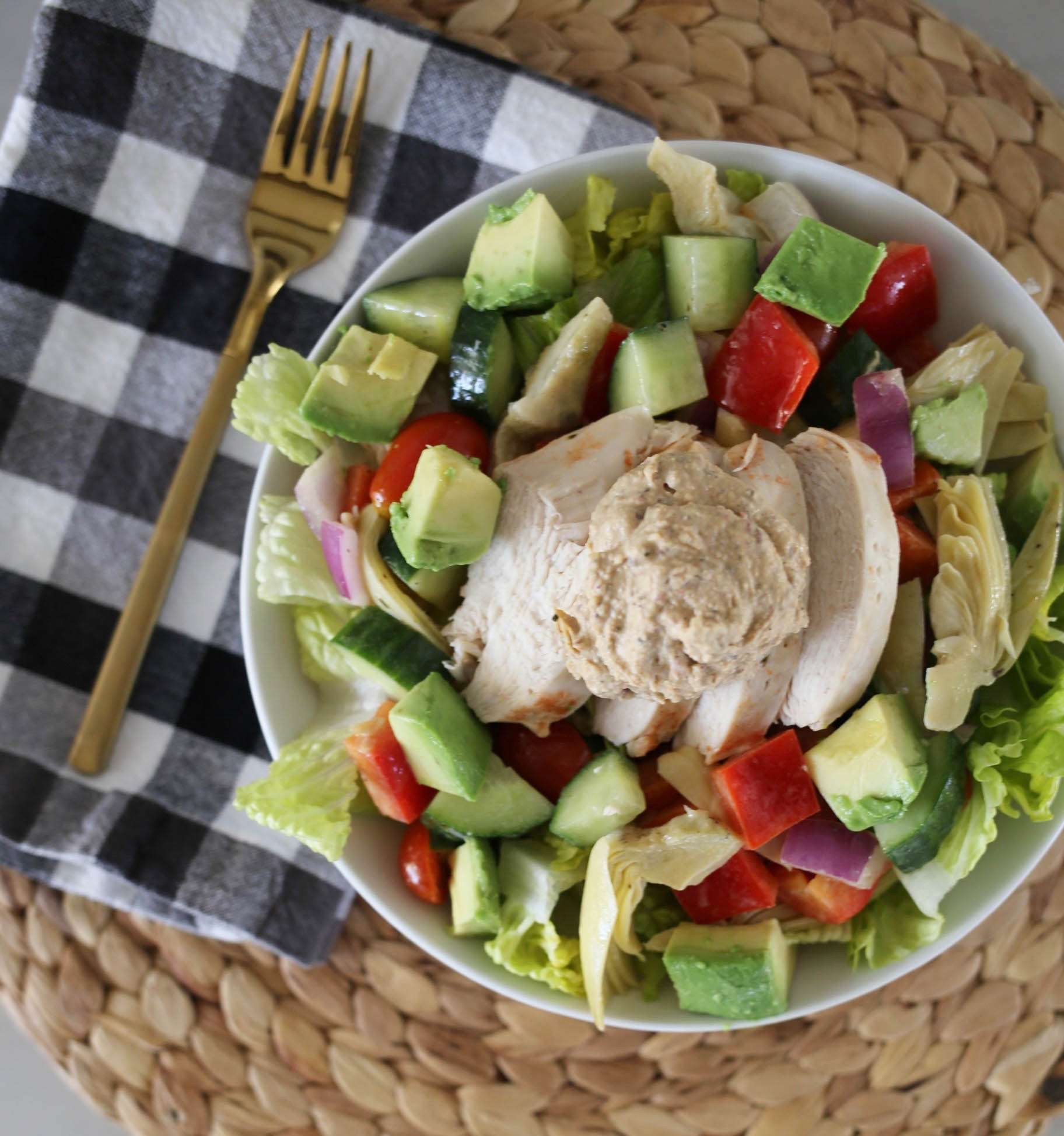 healthy greek salad_