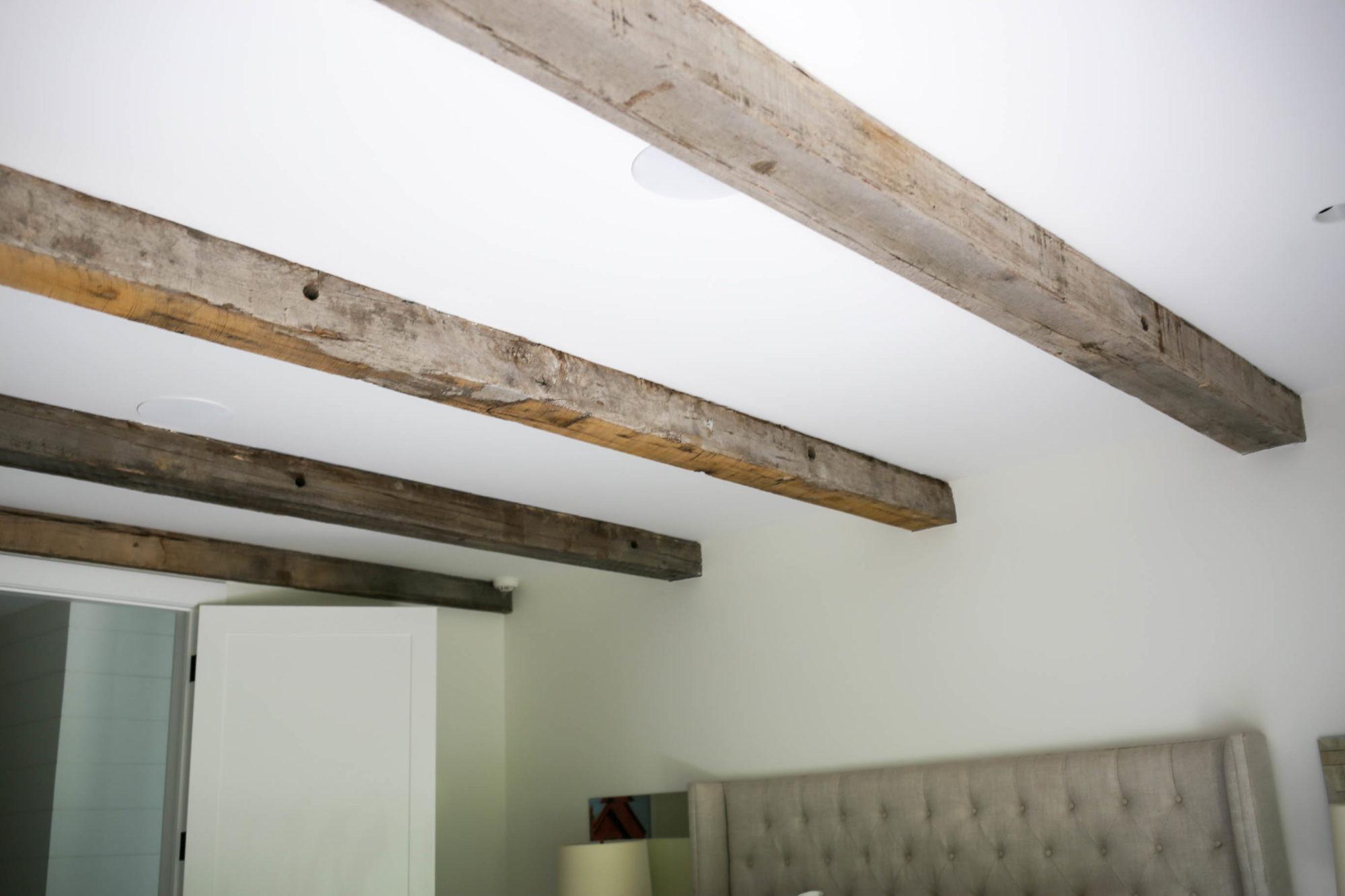 neutral farmhouse bedroom
