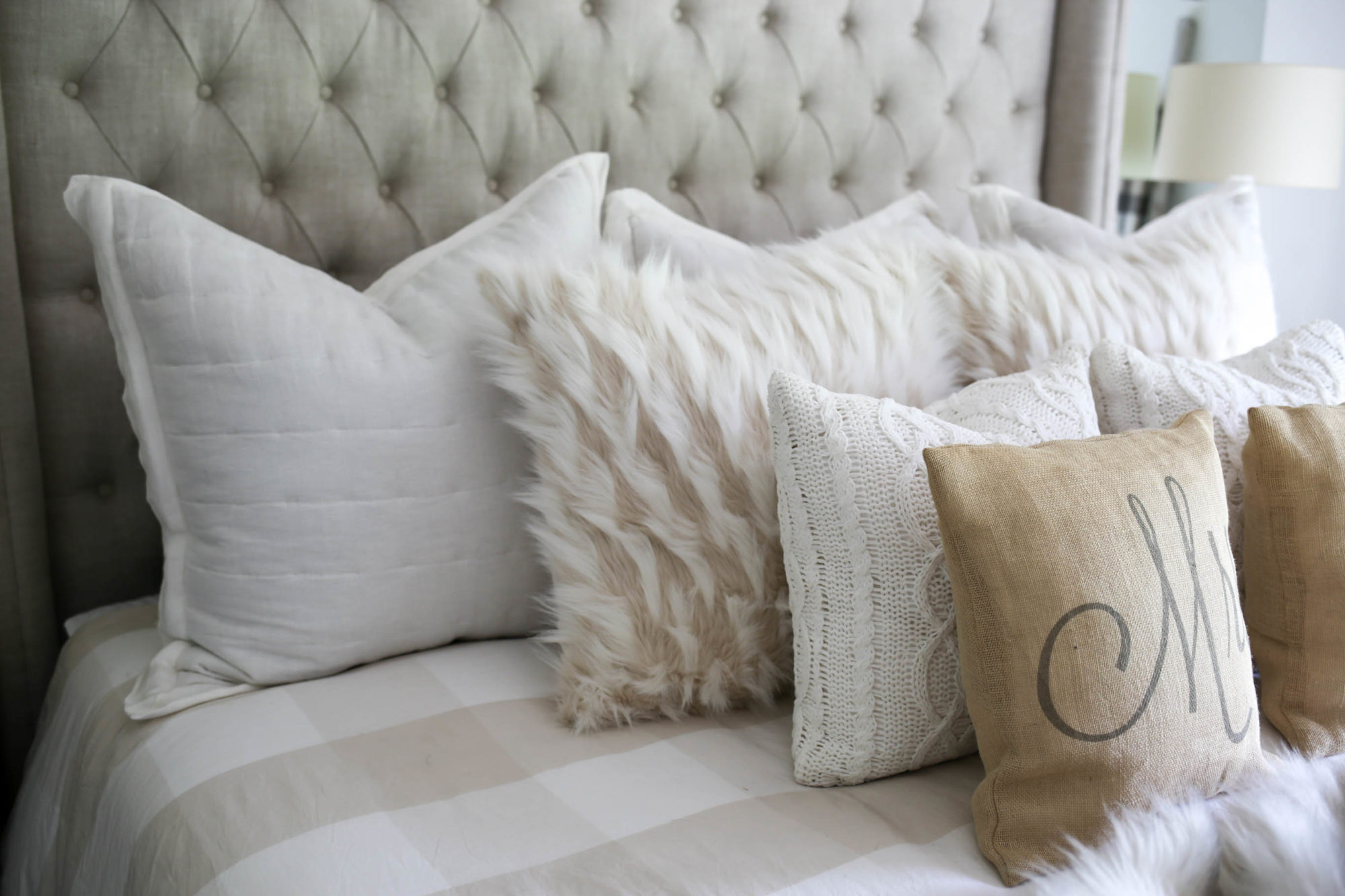 My Modern Farmhouse Master Bedroom Styled By Kasey