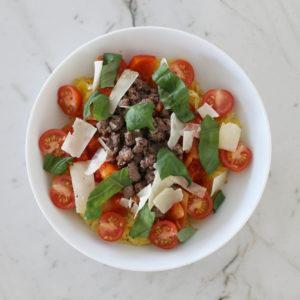 spaghetti squash bowl