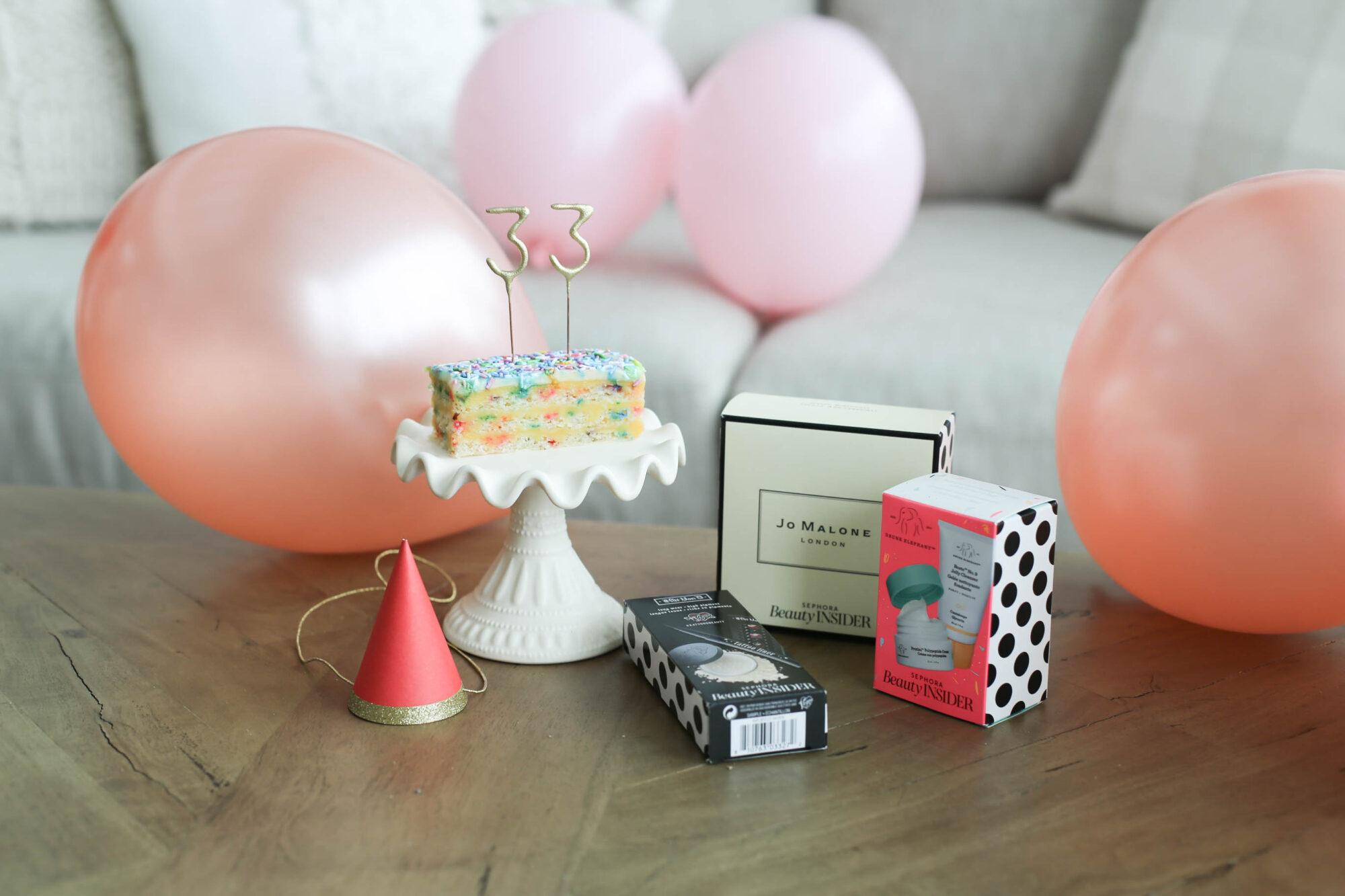 birthday with sephora