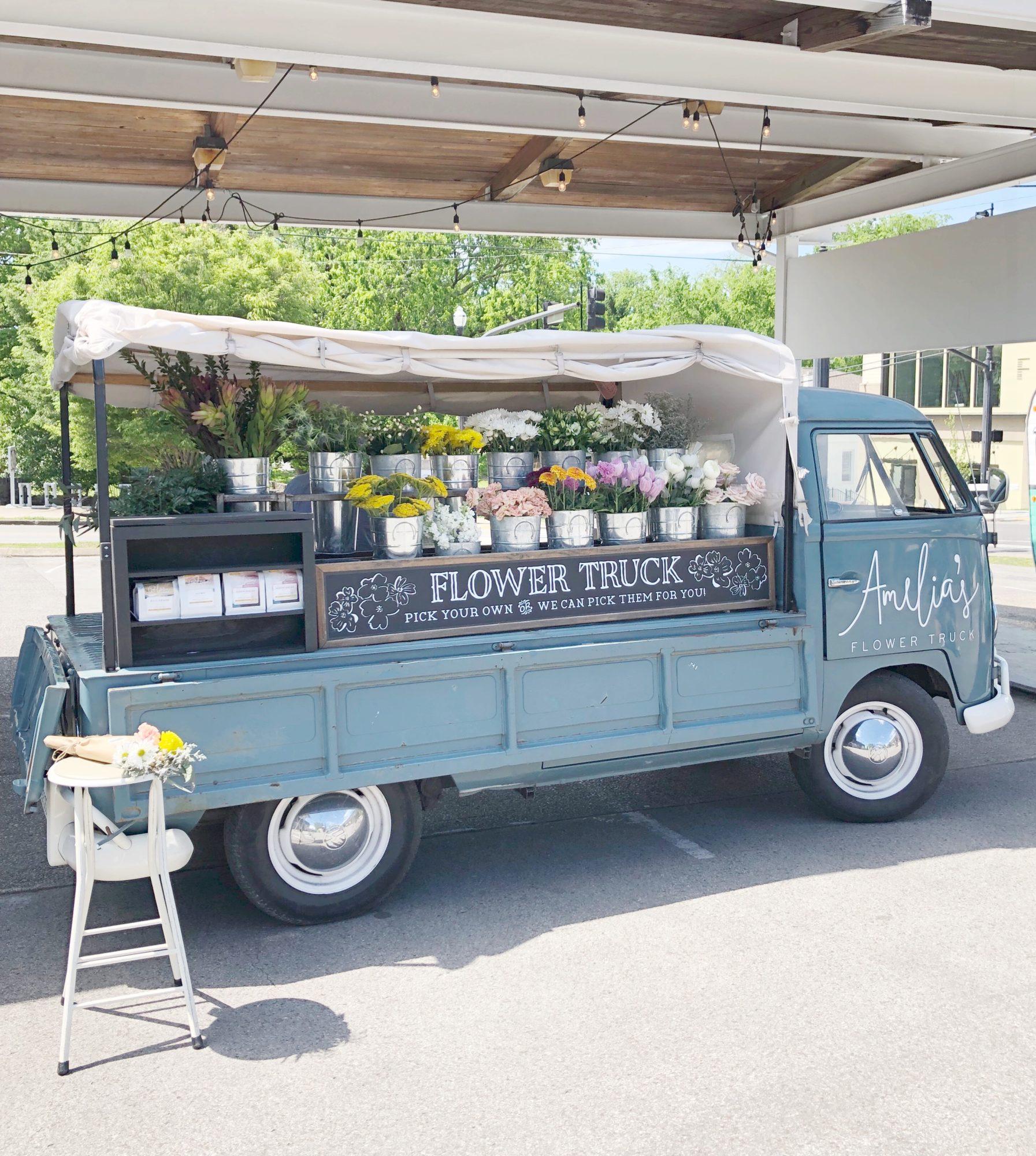 nashville flower truck