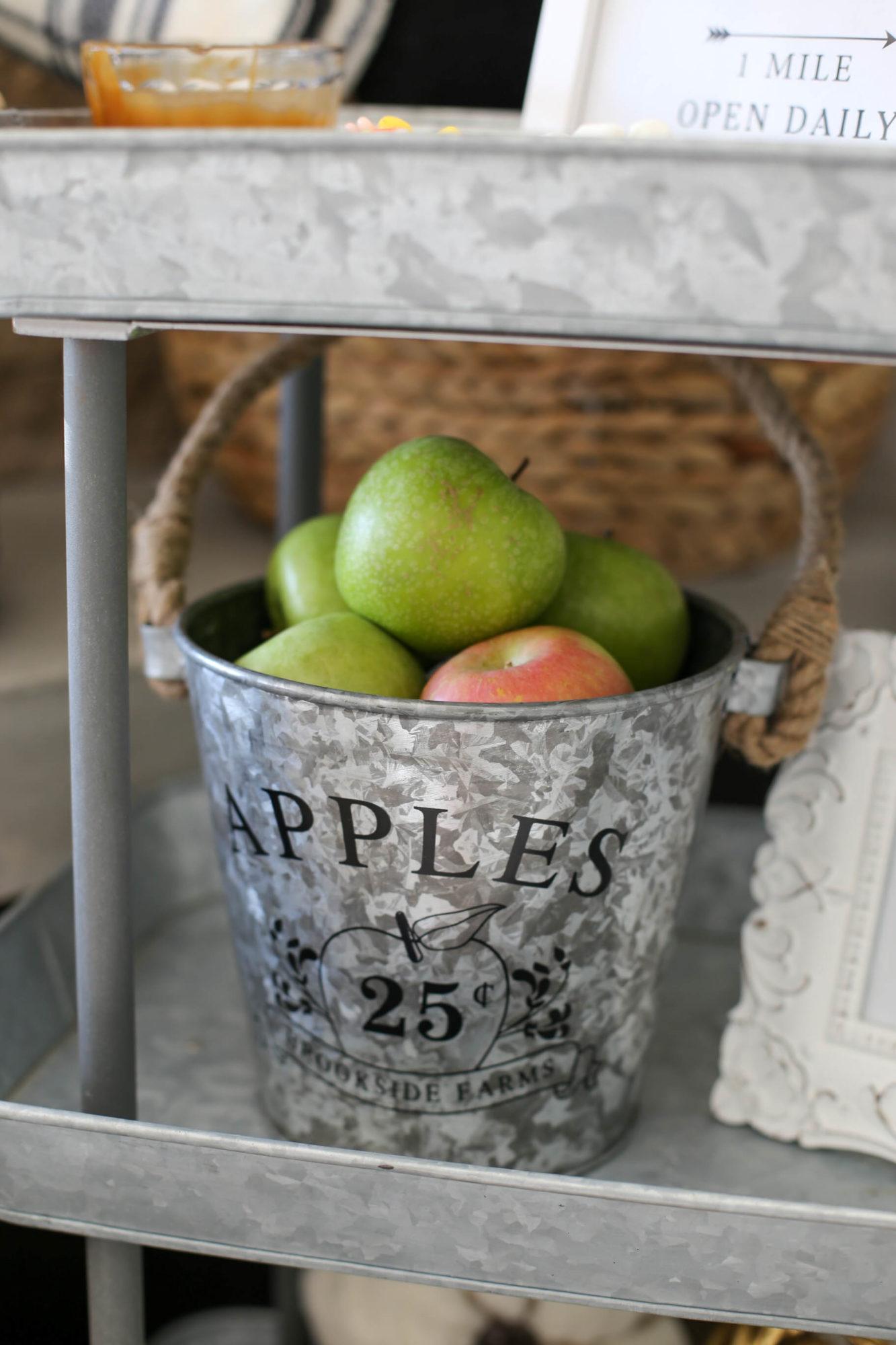 caramel apple bar