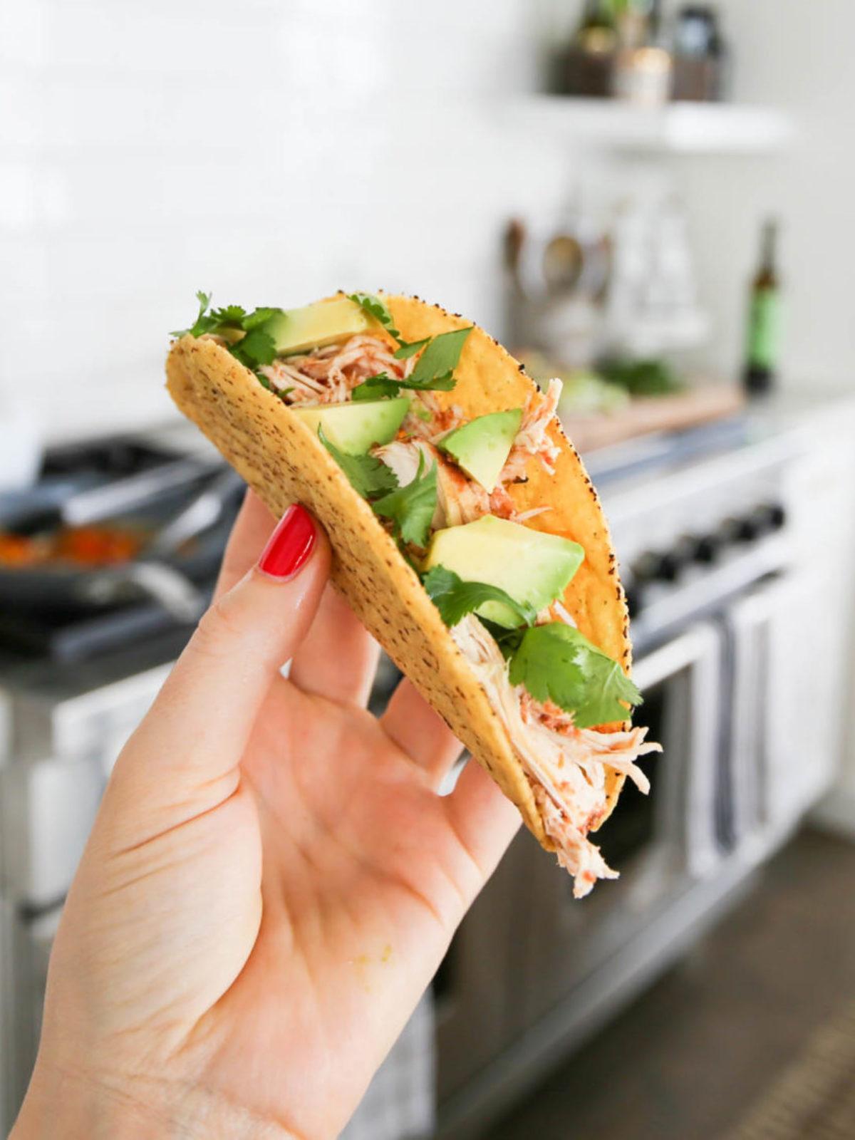 grain free chicken tacos_