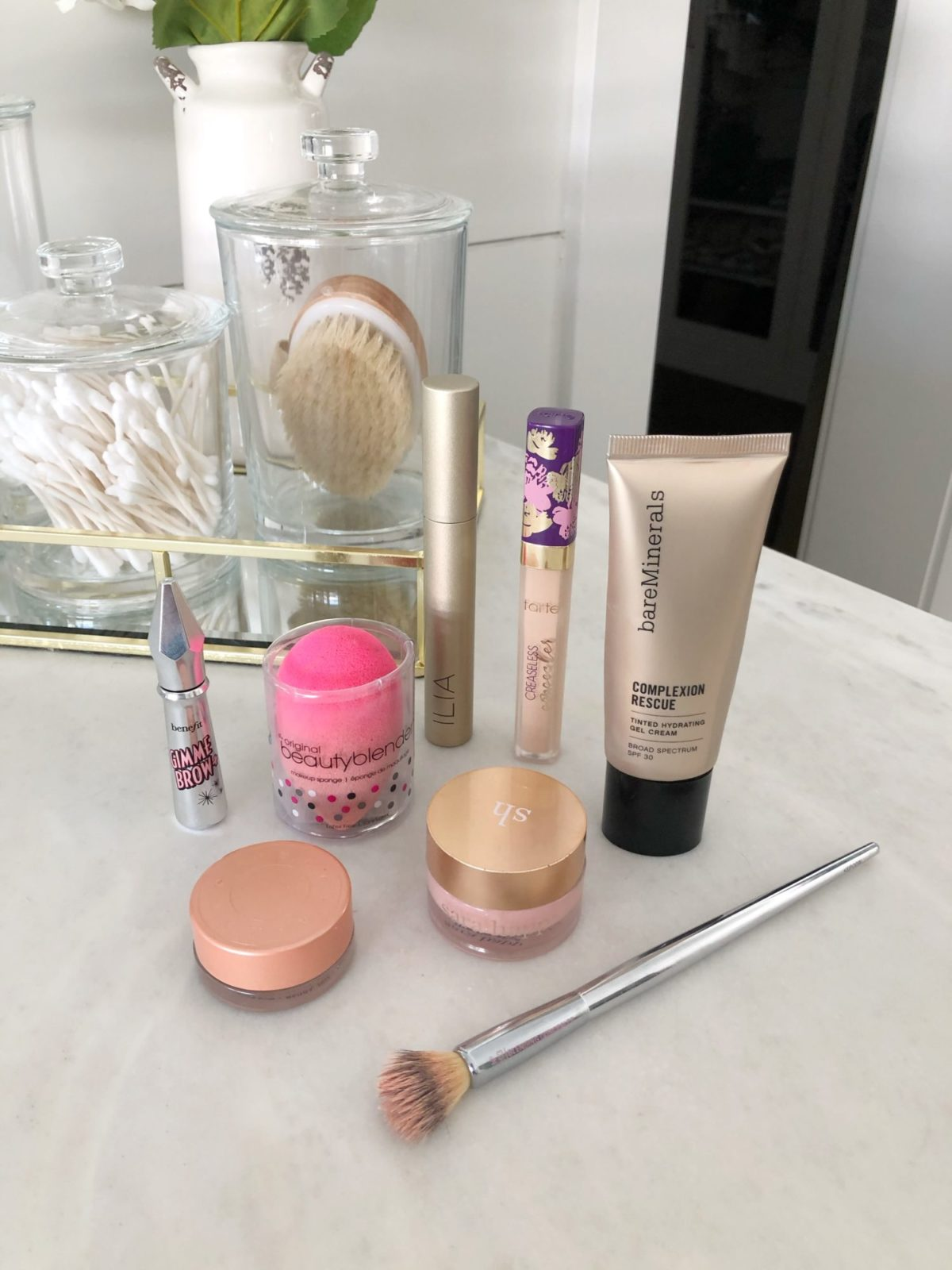 foundation free makeup routine