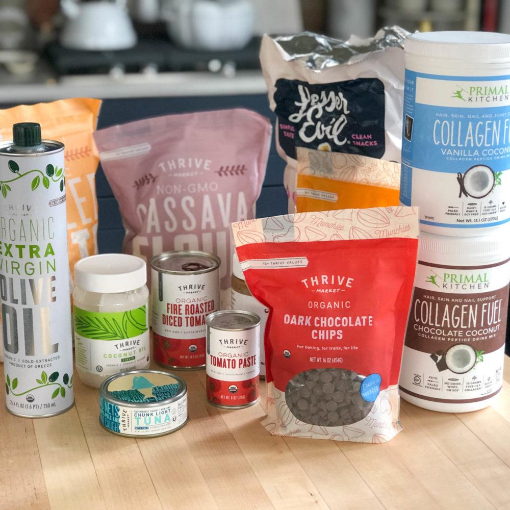 thrive market grocery list