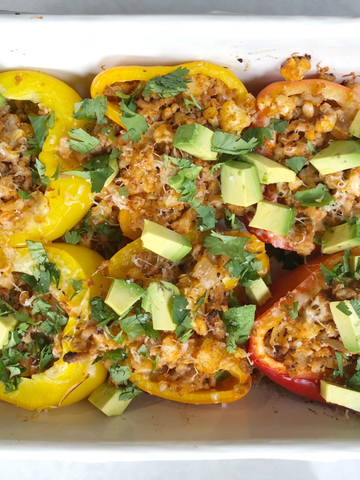 stuffed bell pepper recipe