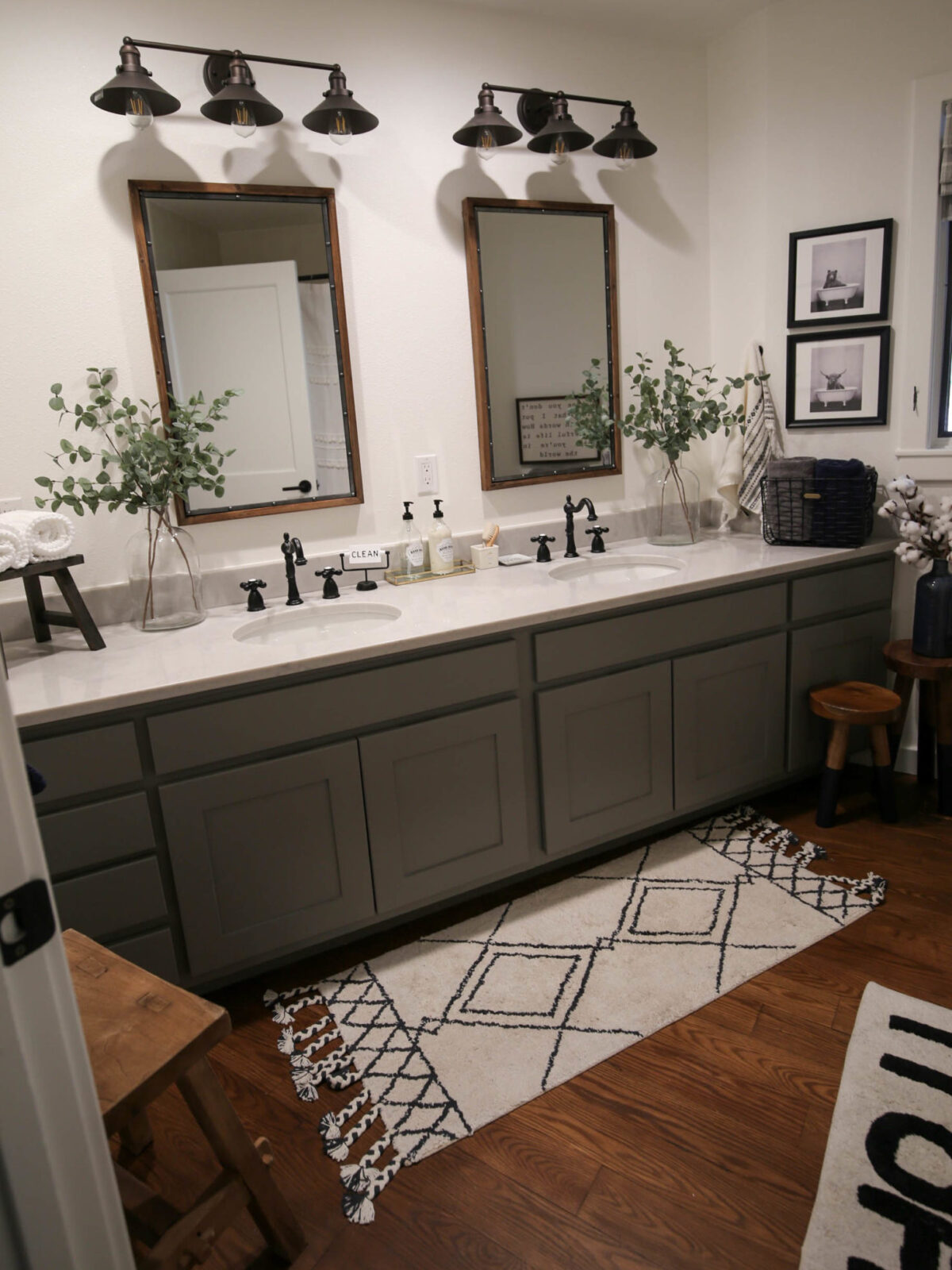 fixer upper guest bathroom