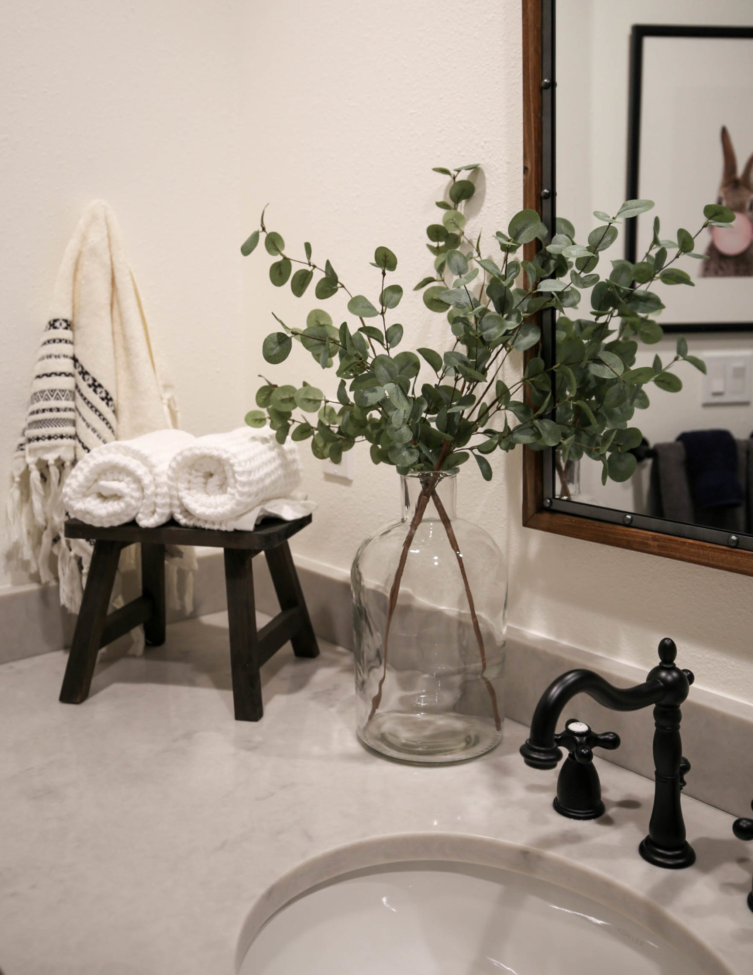 fixer upper guest bathroom