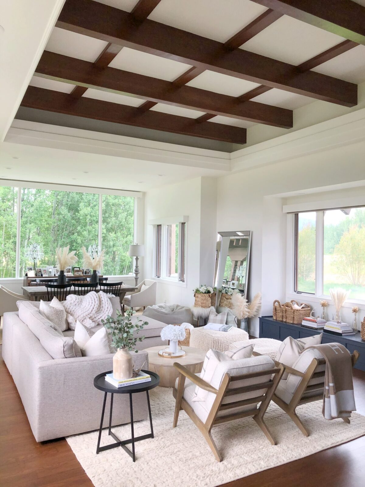 fixer upper living room